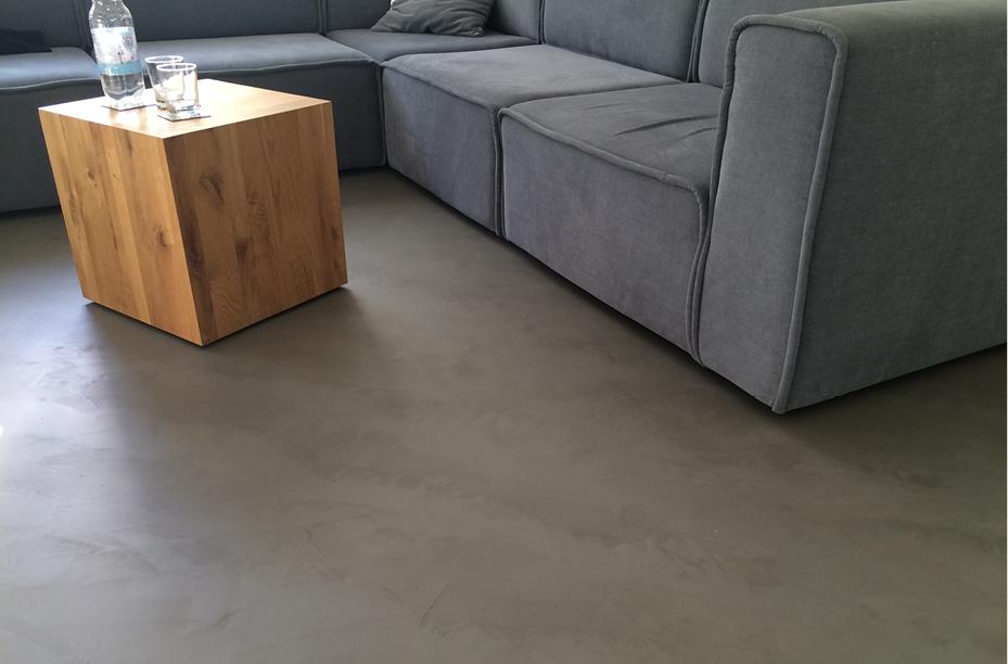 fugenloser spachtelboden mit beton cir einwandfrei. Black Bedroom Furniture Sets. Home Design Ideas