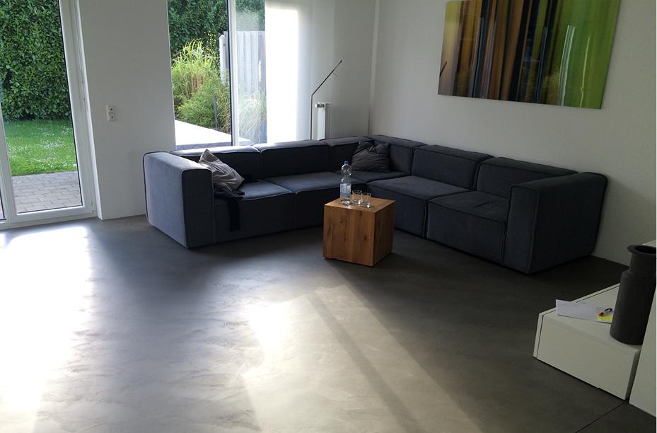 Fußboden Aus Beton ~ Fugenloser spachtelboden mit beton ciré einwandfrei