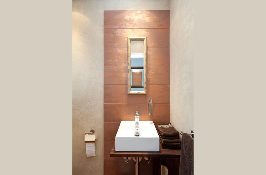 mediterranes g ste wc mit mineralputz einwandfrei. Black Bedroom Furniture Sets. Home Design Ideas